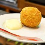 Bola de Patata con Ternasco de Aragón