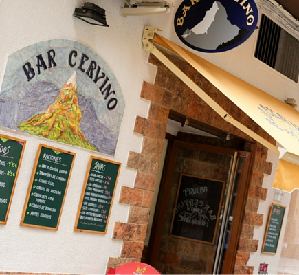 Facahada Bar Cervino