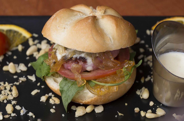Hamburguesa gourmet de Ternasco de Aragón