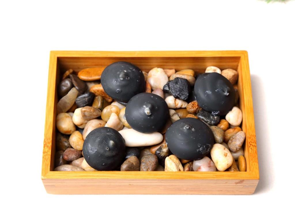Piedras de queso y membrillo - Ternasco con sentido