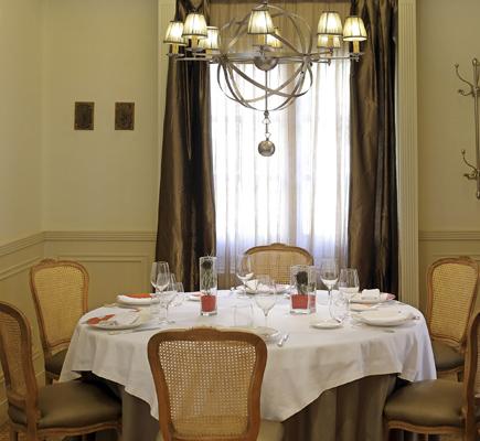 Salón del restaurante el Chalet