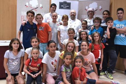 Taller del Ternasco de Aragón en el hotel Abba Huesca - El Concurso