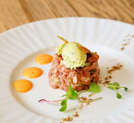 Steak Tartar de Ternasco de Aragón de Albarracín Plus