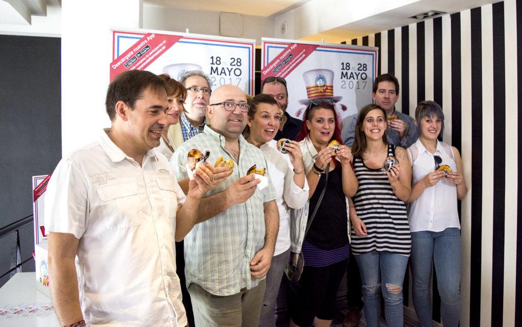 Primer bocado de Huesca - todo listo para votar