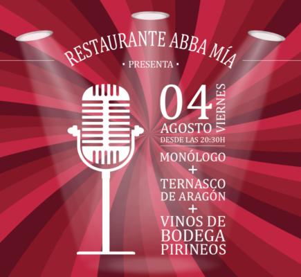 Noches de verano en la terraza del hotel ABBA Huesca