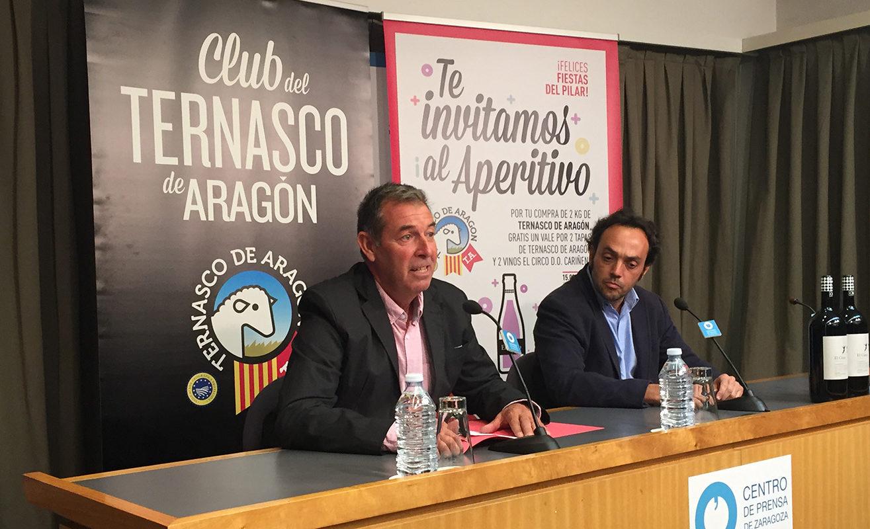Promoción del Ternasco de Aragón en las Fiestas del Pilar de Zaragoza
