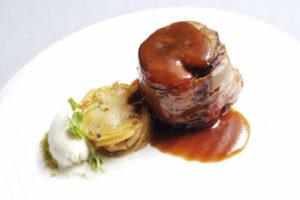 Cilindro de Ternasco de Aragón del Restaurante Saborea