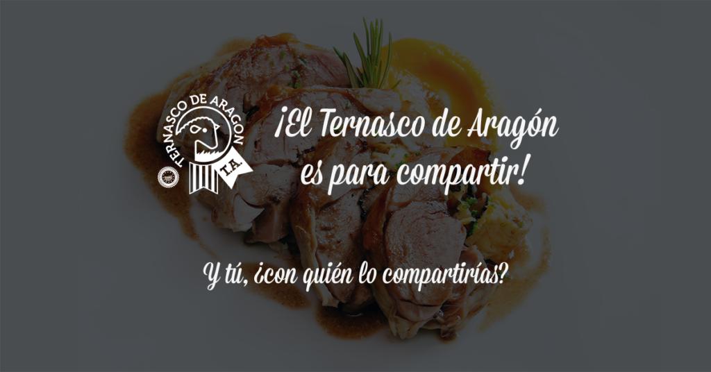 El Ternasco de Aragón es para compartir
