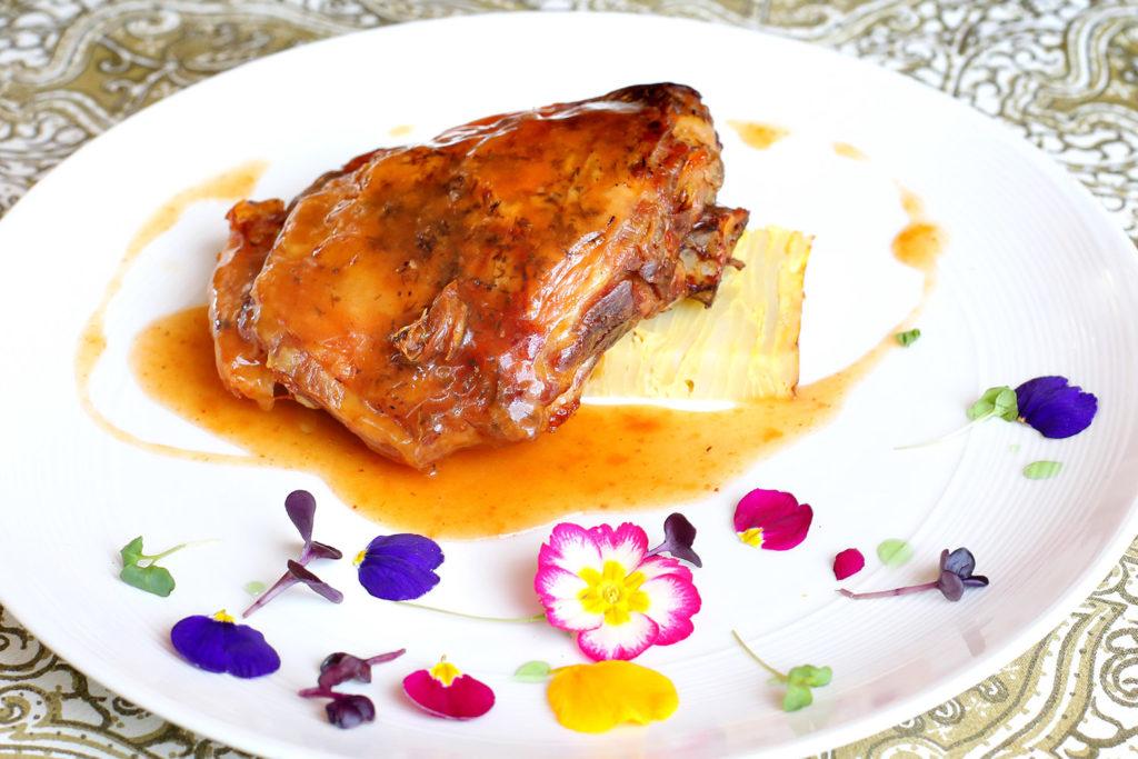 Restaurante El Foro, Paletilla de Ternasco de Aragón