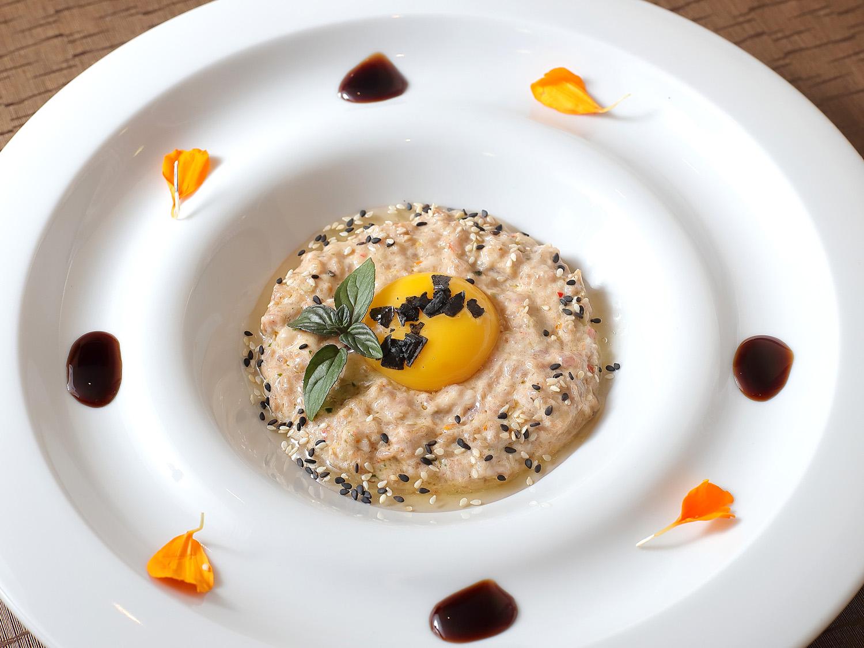 Steak Tartar de Ternasco de Aragón - Restaurante G&M