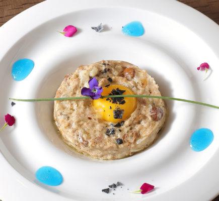 Risotto cremoso de Ternasco de Aragón - Restaurante G&M
