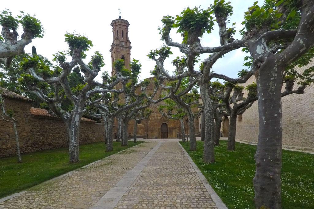 Rumbo al Moncayo, la cuna del cierzo - Monasterio de Veruela