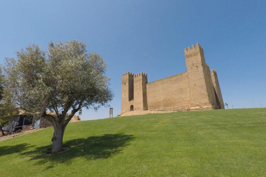 Las Cinco Villas de Aragón - castillo de Sádaba