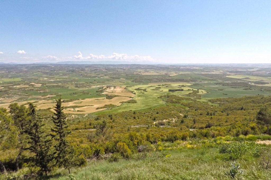 Las Cinco Villas de Aragón - santuario de Monlora