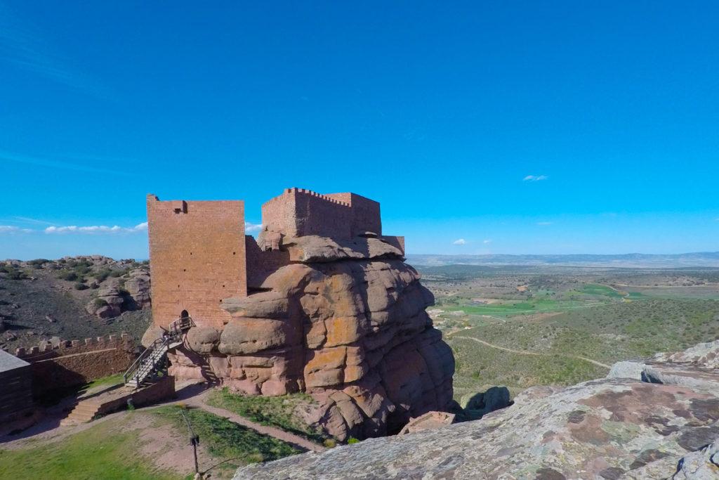 Albarracín, cruce de culturas - castillo de Peracense