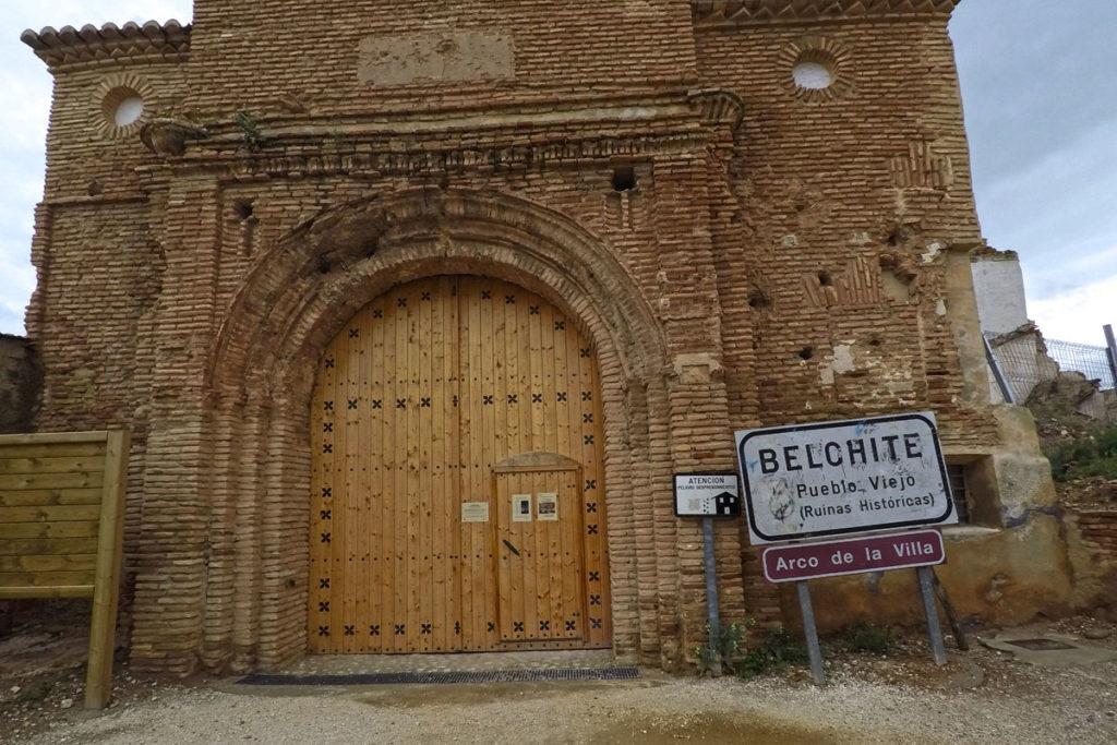 De camino al Monasterio de Piedra - Belchite