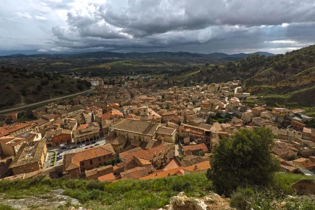 De camino al Monasterio de Piedra - Daroca