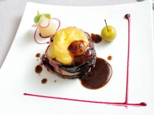 Elaboraciones de Ternasco de Aragón - Plato Restaurante D´La Tierra