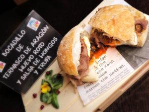Elaboraciones de Ternasco de Aragón - Bocata Flash Gastro Bar
