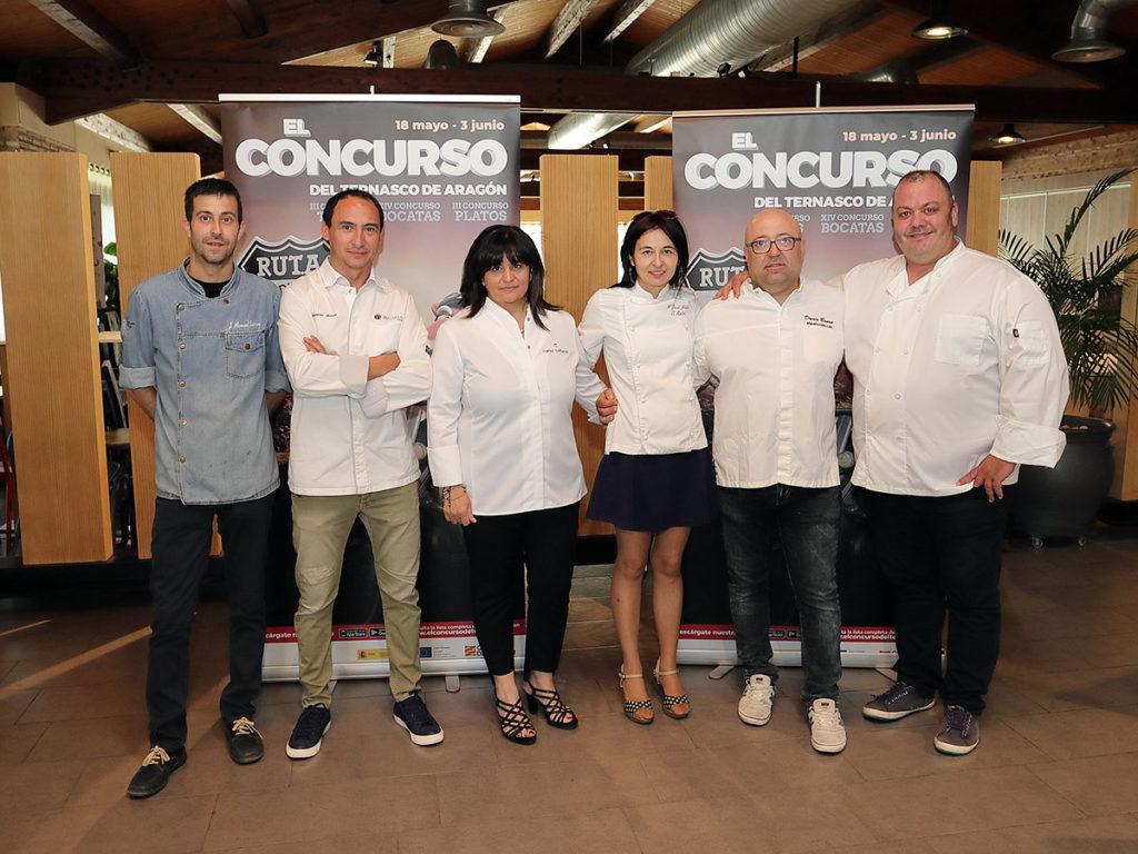 Jurado de la final del Concurso del Ternasco de Aragón 2018