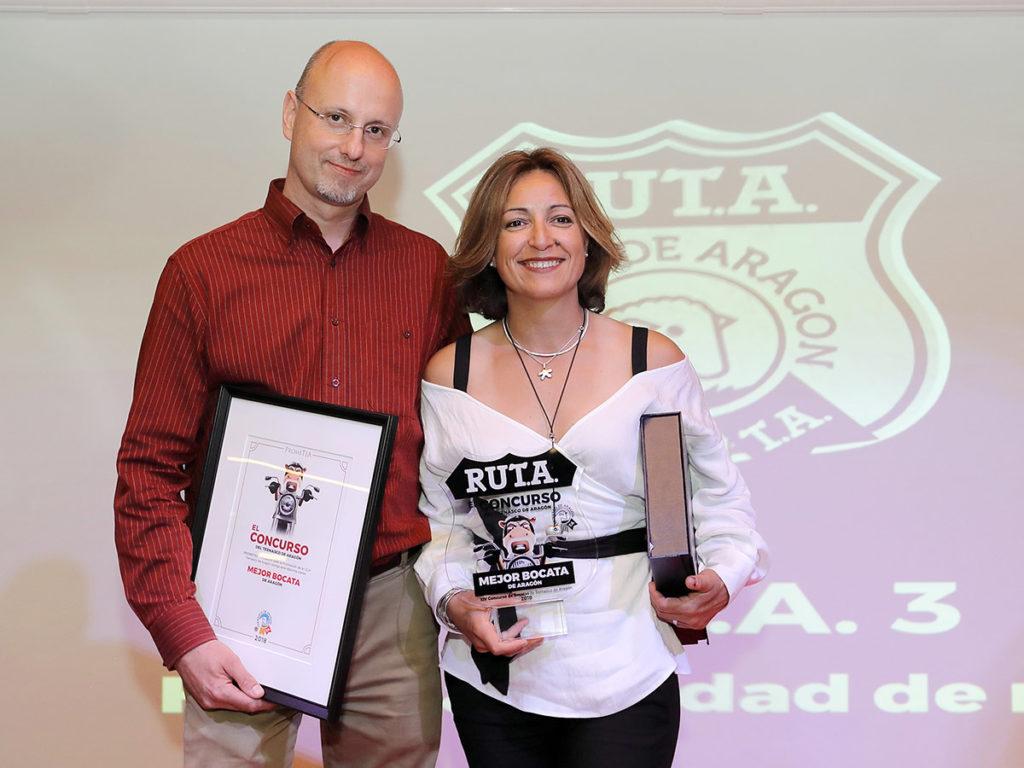 Vencedores del Concurso del Ternasco de Aragón - bocatería Cuéntame de Utebo