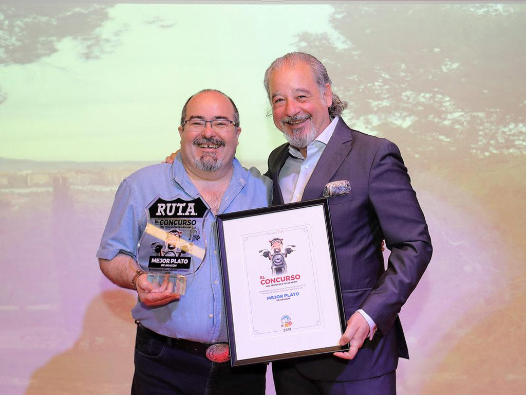 Vencedores del Concurso del Ternasco de Aragón - restaurante El Foro 1998 de Zaragoza