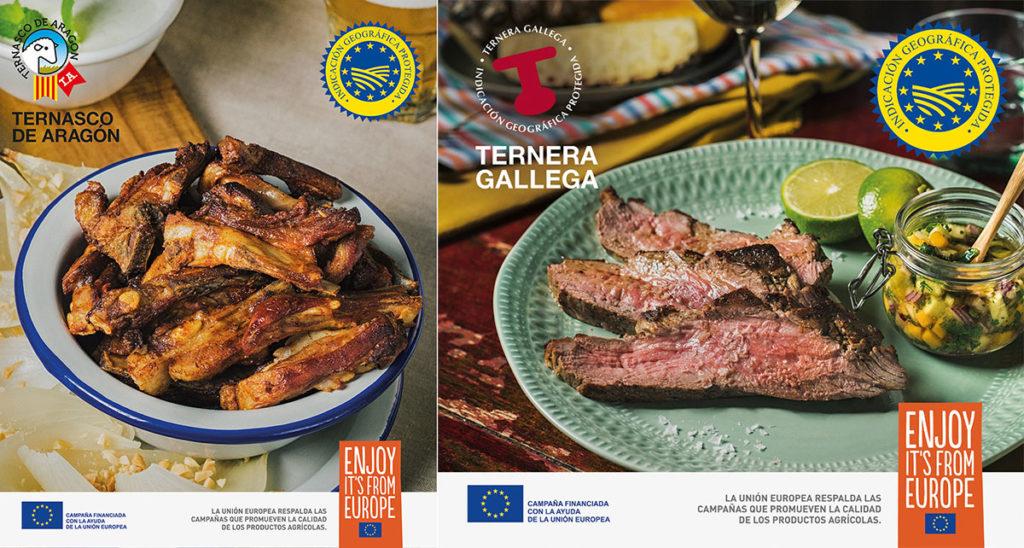 Nuevos cortes de Ternasco de Aragón y de Ternera Gallega