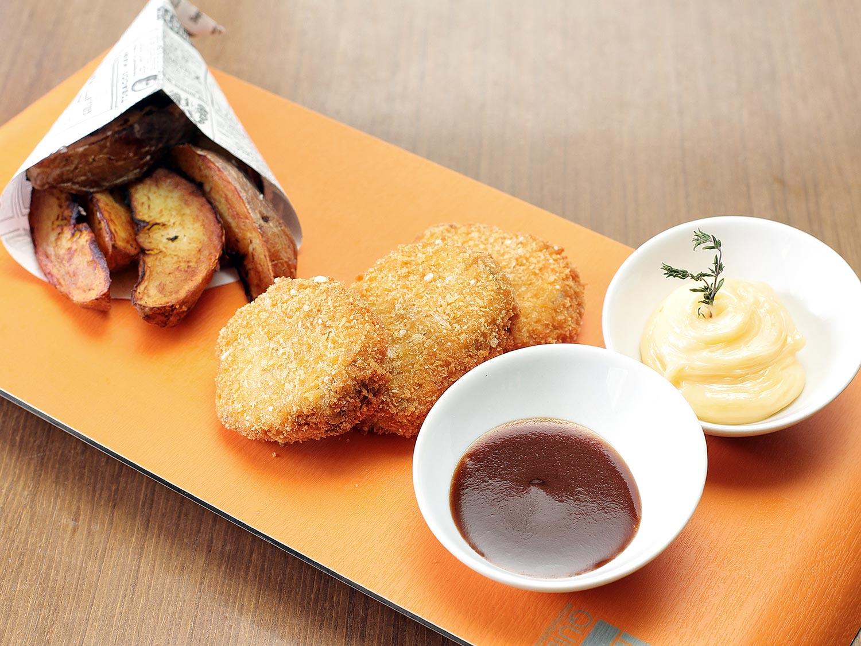 Nuggets de Ternasco de Aragón del restaurante Dommo de Huesca