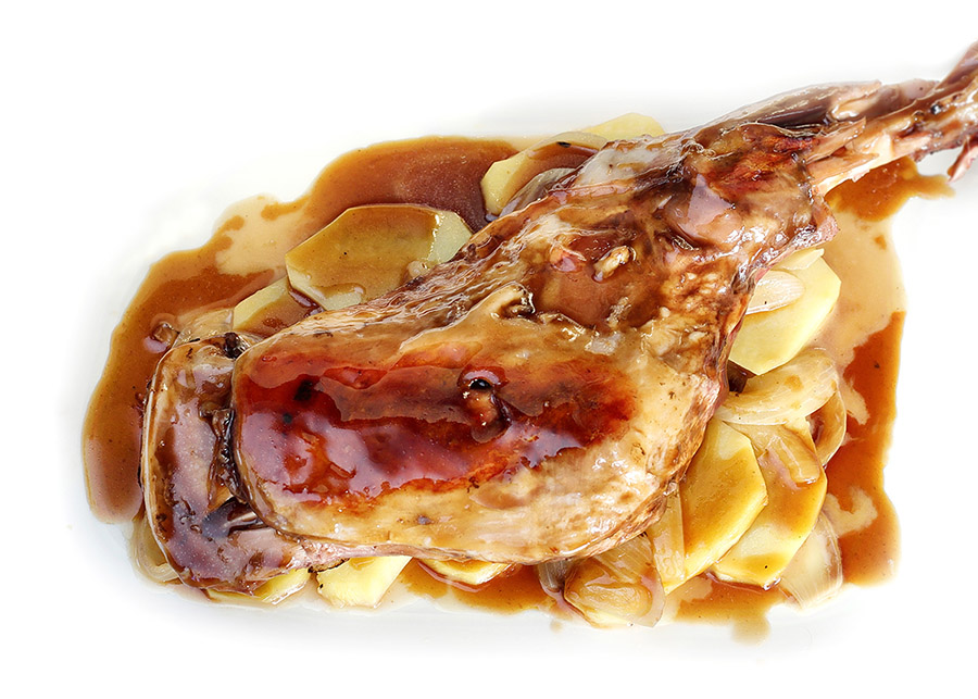 Paletilla de Ternasco de Aragón asada | Vidocq restaurante