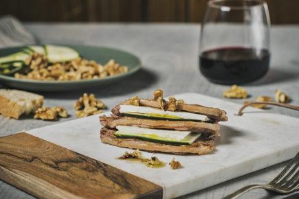 Milhojas de filete fino de Ternasco de Aragón | #CarnesConEstilo