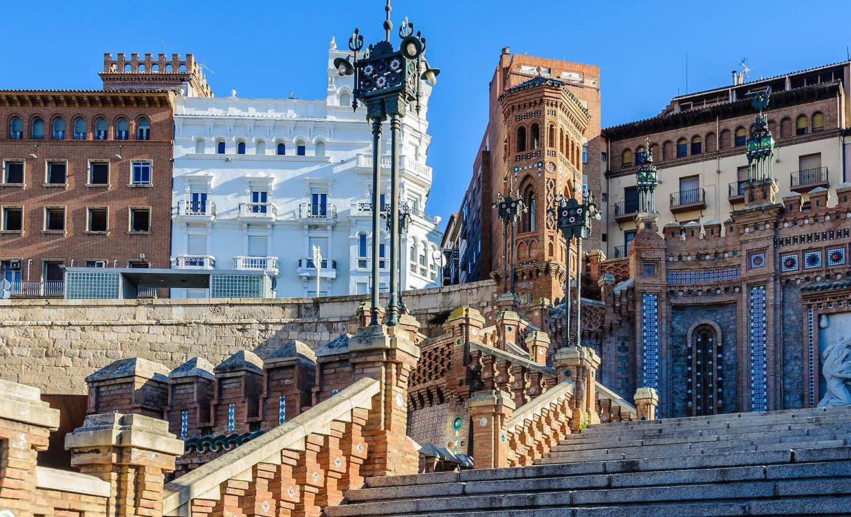 Visita guiada en Teruel | Escalinata de Teruel