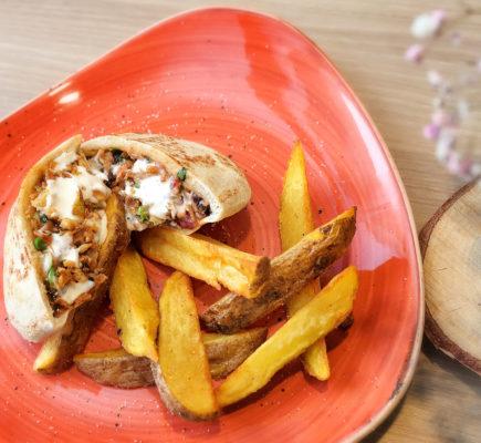 Kebab de Ternasco de Aragón | La Capilleta Restaurante & Bistró