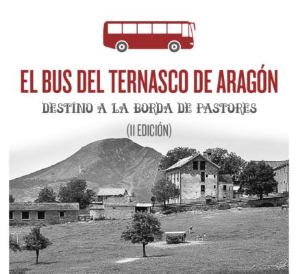 El bus del Ternasco de Aragón vuelve a la Borda de Pastores (II edición)