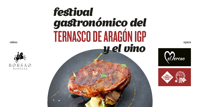 Festival Gastronómico del Ternasco de Aragón y el vino
