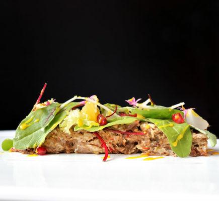 Ensalada de Ternasco de Aragón   Restaurante Quema