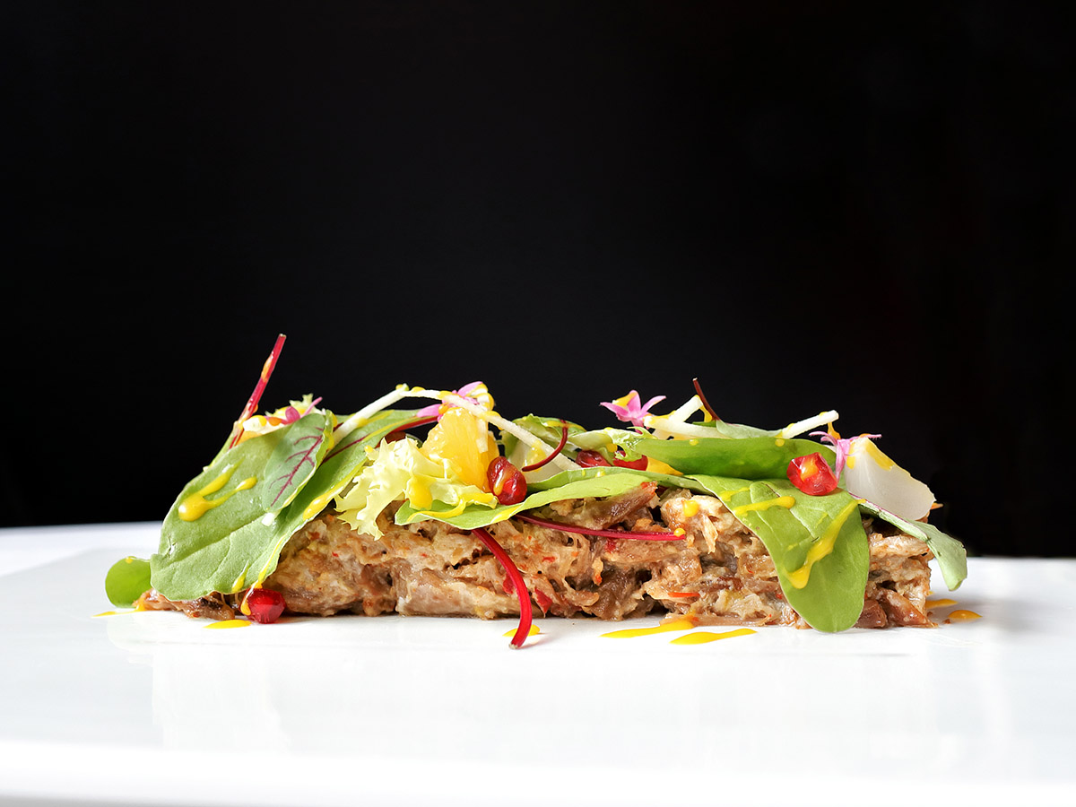 Ensalada de Ternasco de Aragón | Restaurante Quema