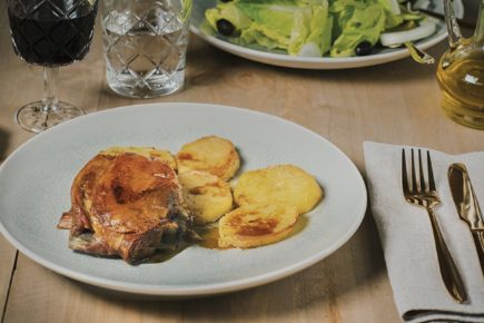 Paletilla de Ternasco de Aragón en asado perfecto
