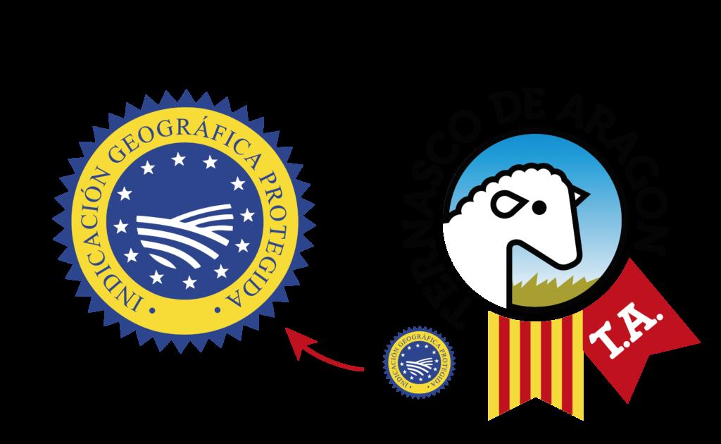 Sello IGP europeo   Ternasco de Aragón