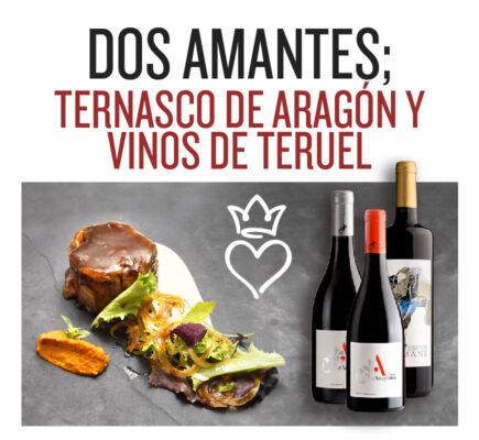 Dos amantes: Ternasco de Aragón y vinos de Teruel